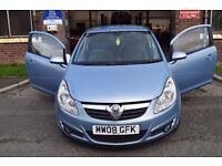Vauxhall Corsa Design 1.2 Petrol. Excellent first car & condition. Serviced & Mot'd 1 owner from new