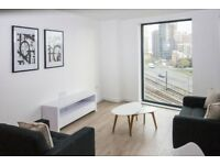 Brand new - 12th floor 1 bedroom apartment - located next to Canary Wharf and Blackwell E14 - GYM JS