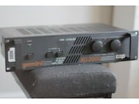 Gemini XG-2000 Stereo Power Amplifier