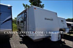 2011 FOREST RIVER SHAMROCK 23RS (bunks)