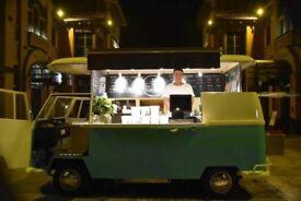 Food Truck (VW Camper Van) Style
