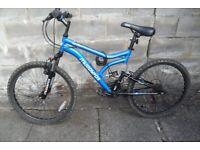 Muddy Fox Full Suspension Thypoon Mountain Bike