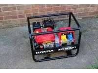 Honda EC2000 Profesional Generator 2kW / 110v/220v & powered by the Honda GX160 Engine, VGC