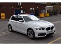 2017 BMW 1 Series 120D SPORT [SAT NAV & Paddle Shifters + £20 ROAD TAX] Auto HATCHBACK