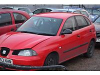 Seat Ibiza 2003 breaking for parts
