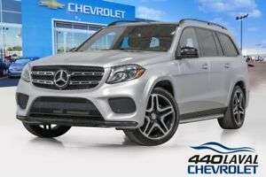 2017 Mercedes Benz GLS450 4MATIC AMG pack 7 passagers toit ouvra