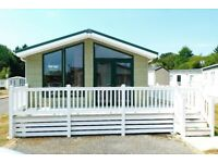 LUXURY LODGE TWIN STATIC CARAVAN HOLIDAY HOME FOR SALE HAMPSHIRE SOUTH COAST MILFORD NEW FOREST
