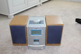 JVC Mini hi-fi system