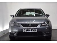 SEAT LEON 1.6 TDI SE TECHNOLOGY 5d 105 BHP (grey) 2014