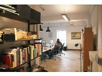 1 or 2 desks available in shared studio