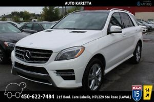 2014 Mercedes-Benz M-Class ML350 BT 4X4, NAVI, XENON, PANORAMIC,