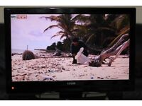 "32"" LUXOR LUX32914IDTV HD LCD TV WITH BUILT IN FREE VIEW IN GREAT CONDITION."