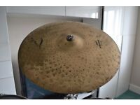 """Zildjian Light Power Ride (see image) 20"""" with Premier Stand used"""