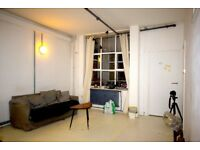 Amazing 3 bed Warehouse Apartment in London Fields Hackney ! Old Warehouse + HUGE LOUNGE!