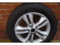 "17""ALLOY WHEEL&TYRE"