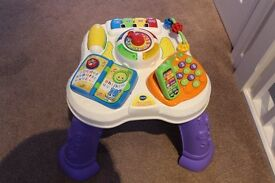 VTech Play and Learn Activity Table For Sale Perfect Condition