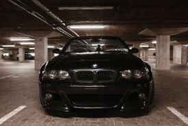bmw m3 convertible e46 red leather black carbon 07/11/2003