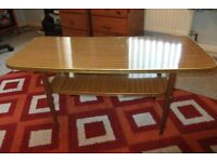 If you like retro furniture then this coffee table could be just what you are looking for.