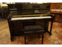 Brand new upright piano in black - Free UK delivery and matching adjustable stool