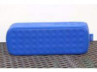 JVC SP-AD70-B Portable Wireless Speaker Bluetooth NFC Microphone Aux In - Blue