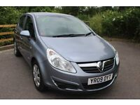 FROM £20 PER WEEK 2009 VAUXHALL CORSA ECO-FLEX 1.2 DIESEL MANUAL BLUE SUPERB ECONOMICAL CAR £20 TAX