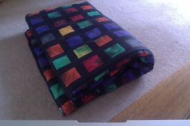 Old style sleeping bag - not one of the compact ones.