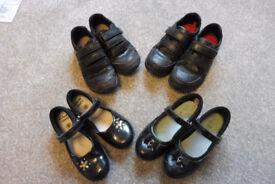 children clarks shoes boys/girls