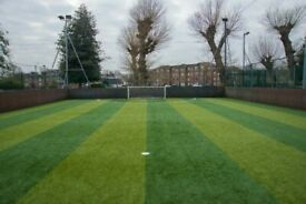 Casual 5-a-side football in Chiswick West London. All welcome!