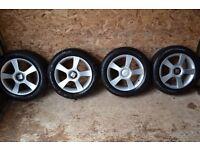 Seat altea 1.6 FSI Reference - alloy wheels -( Audi, VW, Skoda)