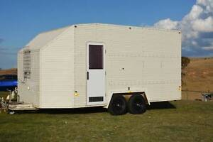 Enclosed Car Trailer / Toy Hauler with rear drop down ramp Brisbane City Brisbane North West Preview