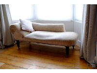 Antique Edwardian Chaise Longue