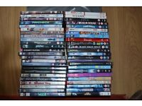 Collection of 48 DVD's
