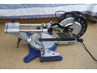 Scheppach HM100LXU cross cut sliding mitre saw