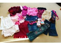 BUNDLE OF GREAT COND GIRLS CLOTHES AGE 4-6 (MIXED BRANDS) NEXT, DEBS ETC