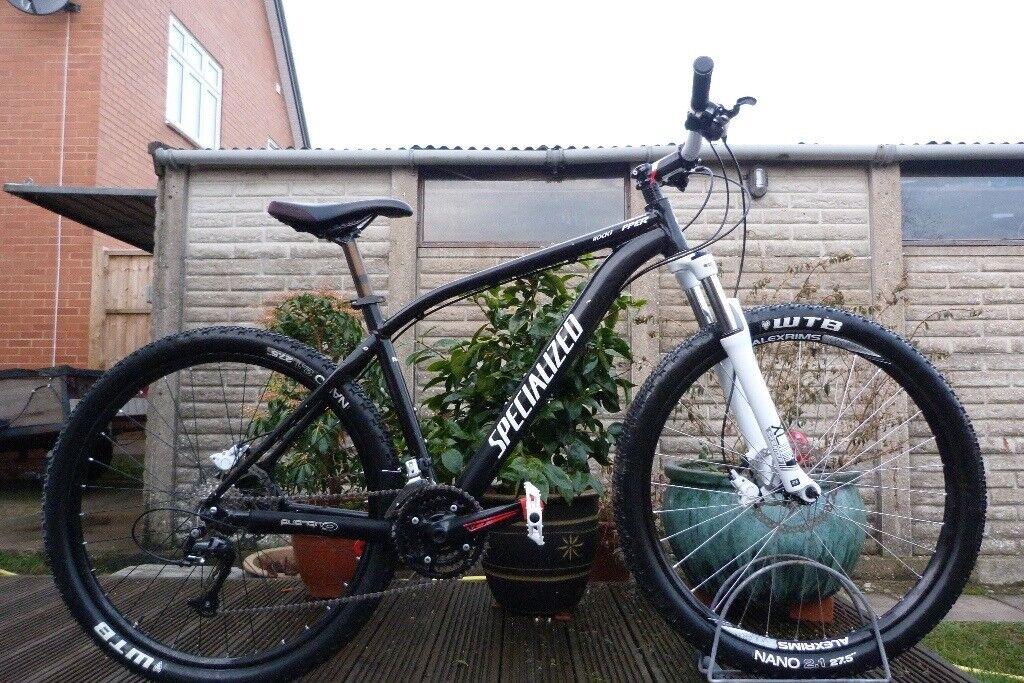 "Specialized Rockhopper Mountain Bike Hardtail Large 19"" Frame 27.5 ..."