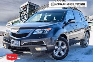 2012 Acura MDX Tech 6sp at Accident Free| Winter Tires Included/