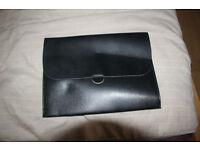 Apple iPad Mini black leather case