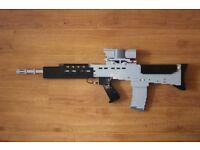 Lego SA80 British Army Rifle Display Model - Military