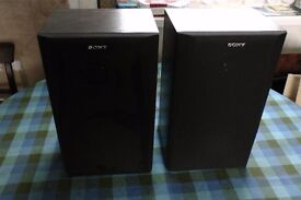 Sony speakers, pair of good quality SS-A105E 60 watt.
