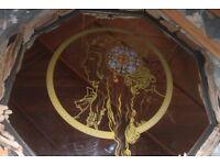 'Mucha' Art nouveau Driftwood mirror