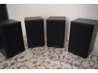 Wharfedale DIAMOND 9.0 (Black) 4 Speakers