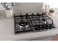 AEG Gas Hob HG654550SY, in Stainless Steel, in (almost) Brand New condition - 3 months old. £329 New