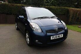 Toyota Yaris 1.0 VVT-i TR 3dr, 2010, 10 MONTHS MOT, Blue, 65000 miles, £30 ROAD TAX