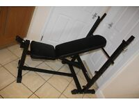 Marcy Olympic weights bench, heavy duty, folding home gym bench
