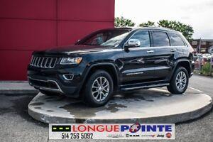 2014 Jeep Grand Cherokee Limited 4X4, CUIR CHAUFFANTS, BLUETOOTH