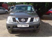 Nissan Navara Outlaw Kingcab 2007-57-Reg
