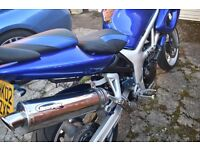 Suzuki SV650S A2 licence Restricted read add