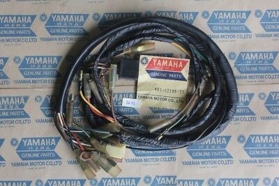 Used, Yamaha RS100 RS125 Main Wire Harness Assy NOS 463-82590-21  for sale  Shipping to Canada