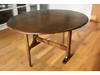 REDUCED! Original Ercol folding table in excellent condition