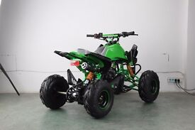 NEW 2017 110CC CHILDRENS / KIDS OFF ROAD TOXIC QUAD BIKE WITH REVERSE 2 COLOURS FREE DELIVERY!